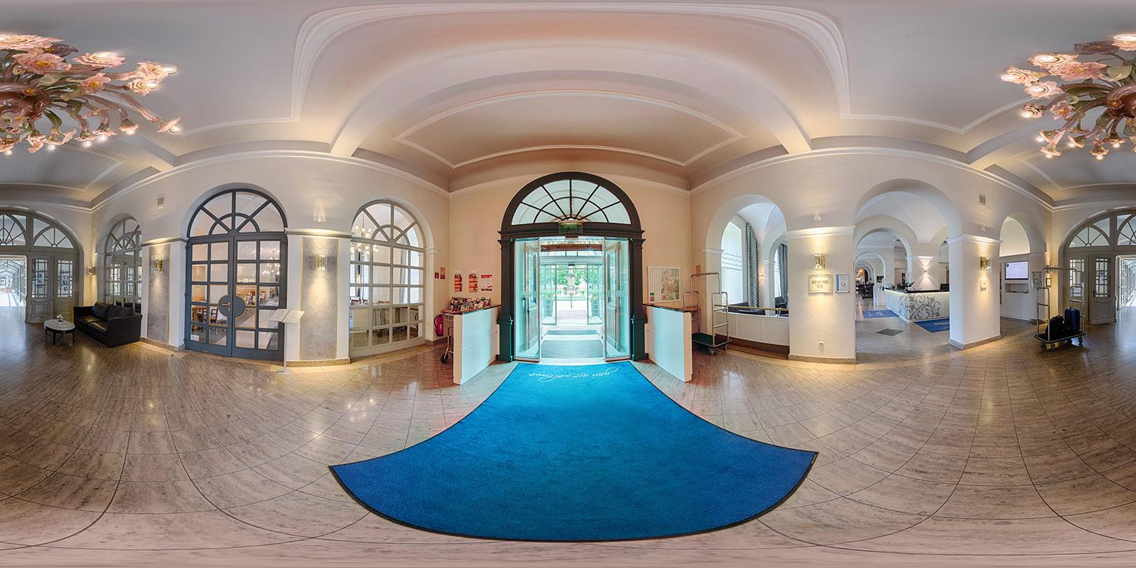 Hotel Residenz Bamberg Eingangsbereich